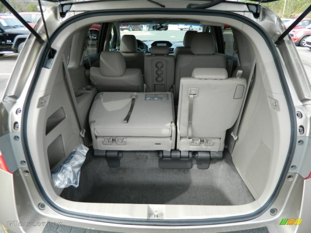 2012 honda odyssey touring elite trunk photo 70380603. Black Bedroom Furniture Sets. Home Design Ideas