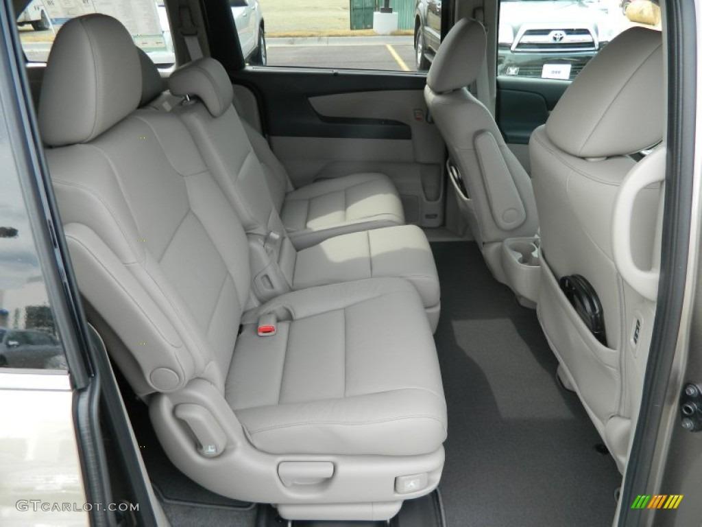2012 honda odyssey touring elite rear seat photo 70380612. Black Bedroom Furniture Sets. Home Design Ideas