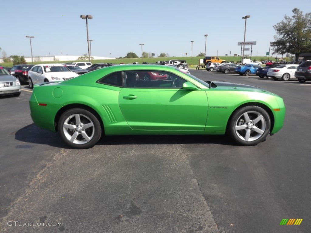 Synergy Green Metallic 2010 Chevrolet Camaro Lt Coupe