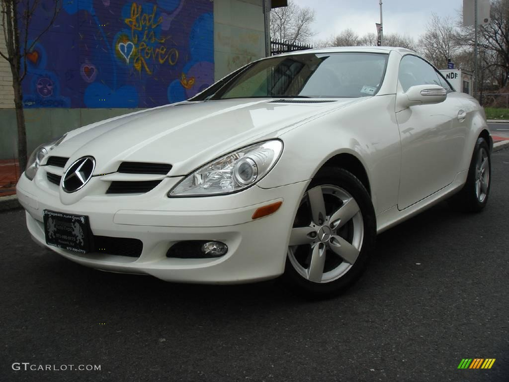 2006 alabaster white mercedes benz slk 280 roadster 7022075 car color galleries. Black Bedroom Furniture Sets. Home Design Ideas