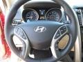 Beige Steering Wheel Photo for 2013 Hyundai Elantra #70398728