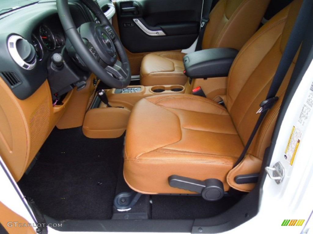 2008 Jeep Wrangler Unlimited Rubicon Black/Dark Saddle Interior 2013 Jeep Wrangler Unlimited ...