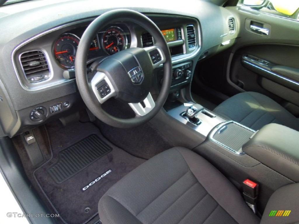 Marvelous Black Interior 2013 Dodge Charger SE Photo #70401984