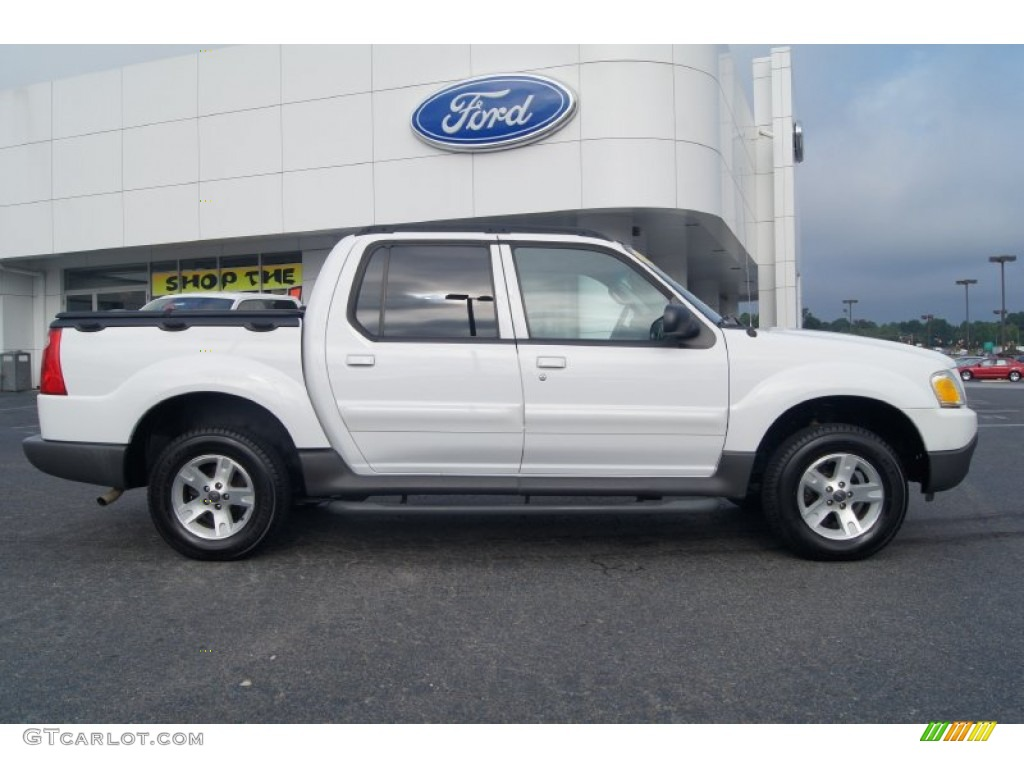 oxford white 2005 ford explorer sport trac xlt exterior photo. Cars Review. Best American Auto & Cars Review