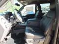 2012 Tuxedo Black Metallic Ford F250 Super Duty Lariat Crew Cab  photo #3