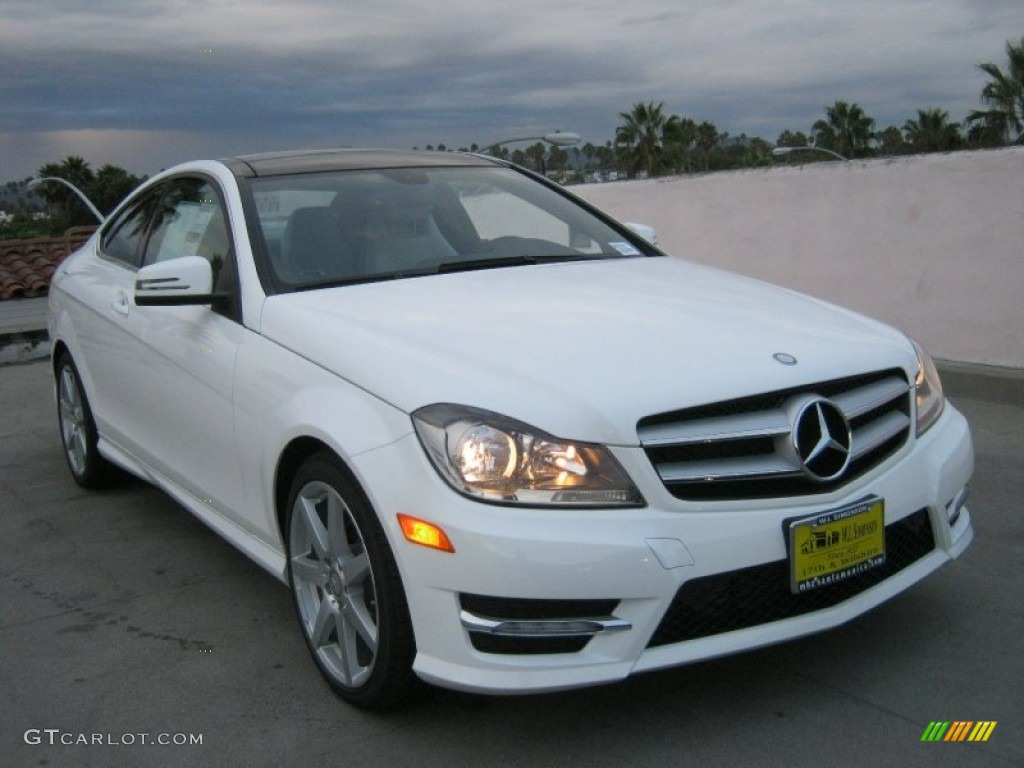 2013 polar white mercedes benz c 250 coupe 70406928