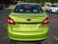 2013 Lime Squeeze Ford Fiesta SE Sedan  photo #3