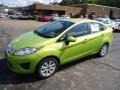 2013 Lime Squeeze Ford Fiesta SE Sedan  photo #5