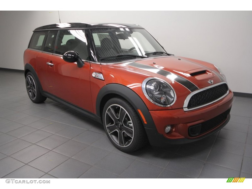 2013 spice orange metallic mini cooper s clubman 70407264 car color galleries. Black Bedroom Furniture Sets. Home Design Ideas