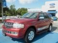 2007 Vivid Red Metallic Lincoln Navigator Luxury #70406868