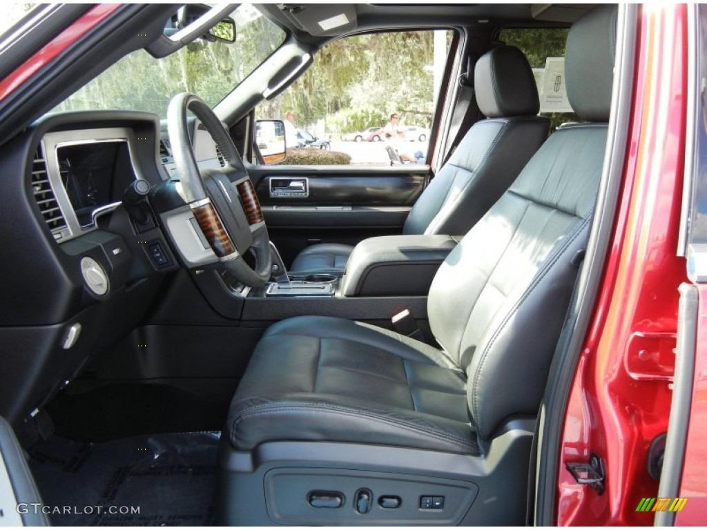 2007 Navigator Luxury - Vivid Red Metallic / Charcoal photo #11