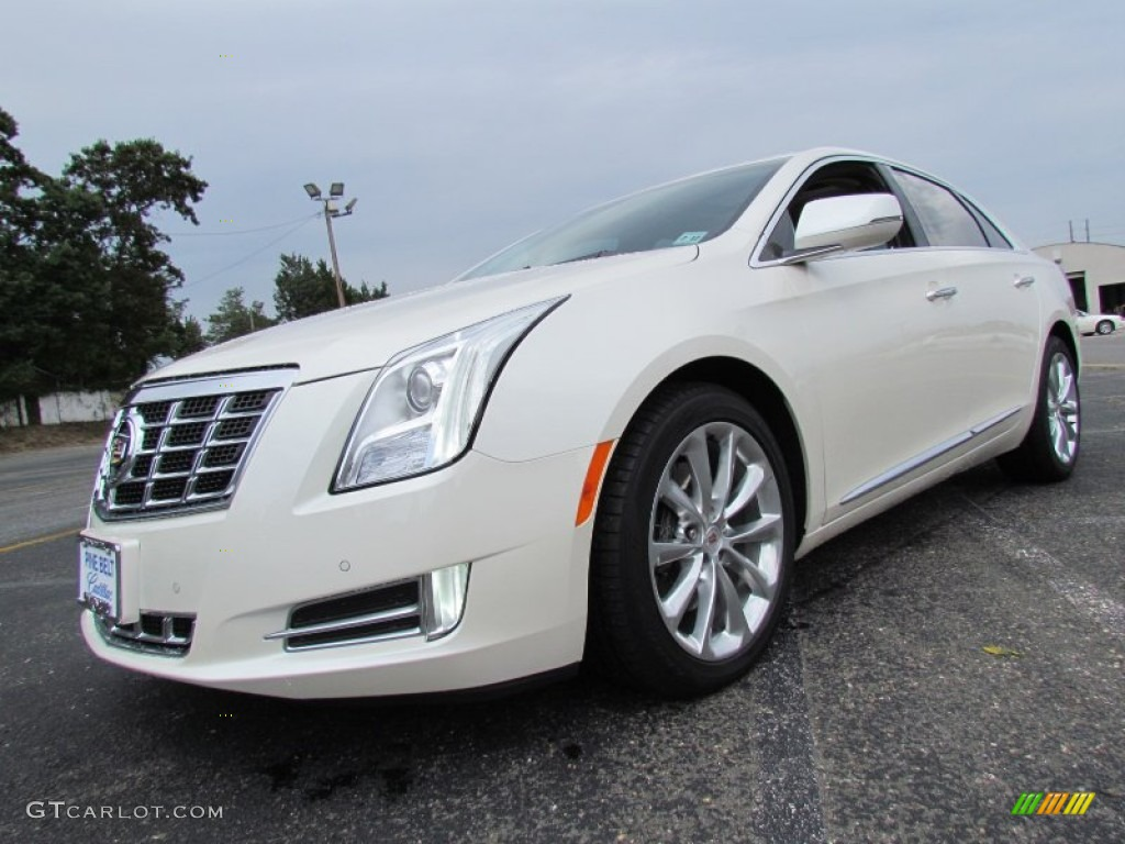 2013 White Diamond Tricoat Cadillac Xts Premium Awd 70407491 Car Color Galleries