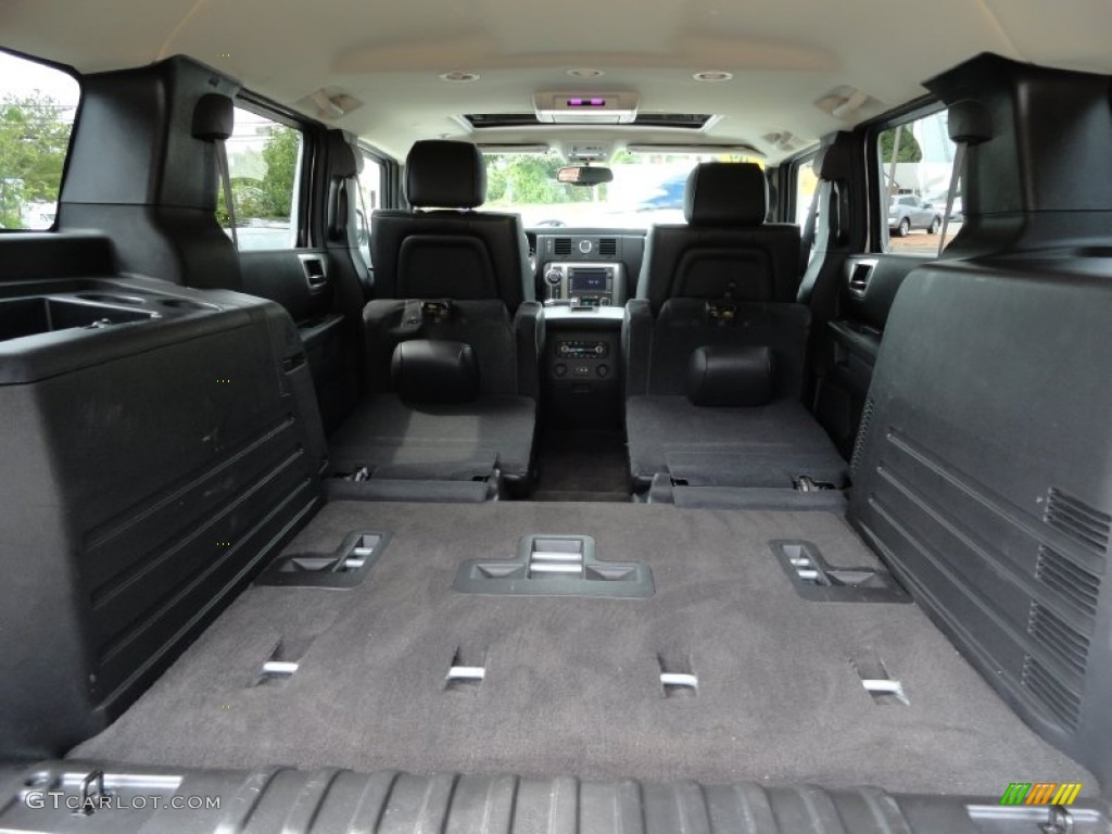 2009 hummer h2 suv silver ice trunk photo 70467349