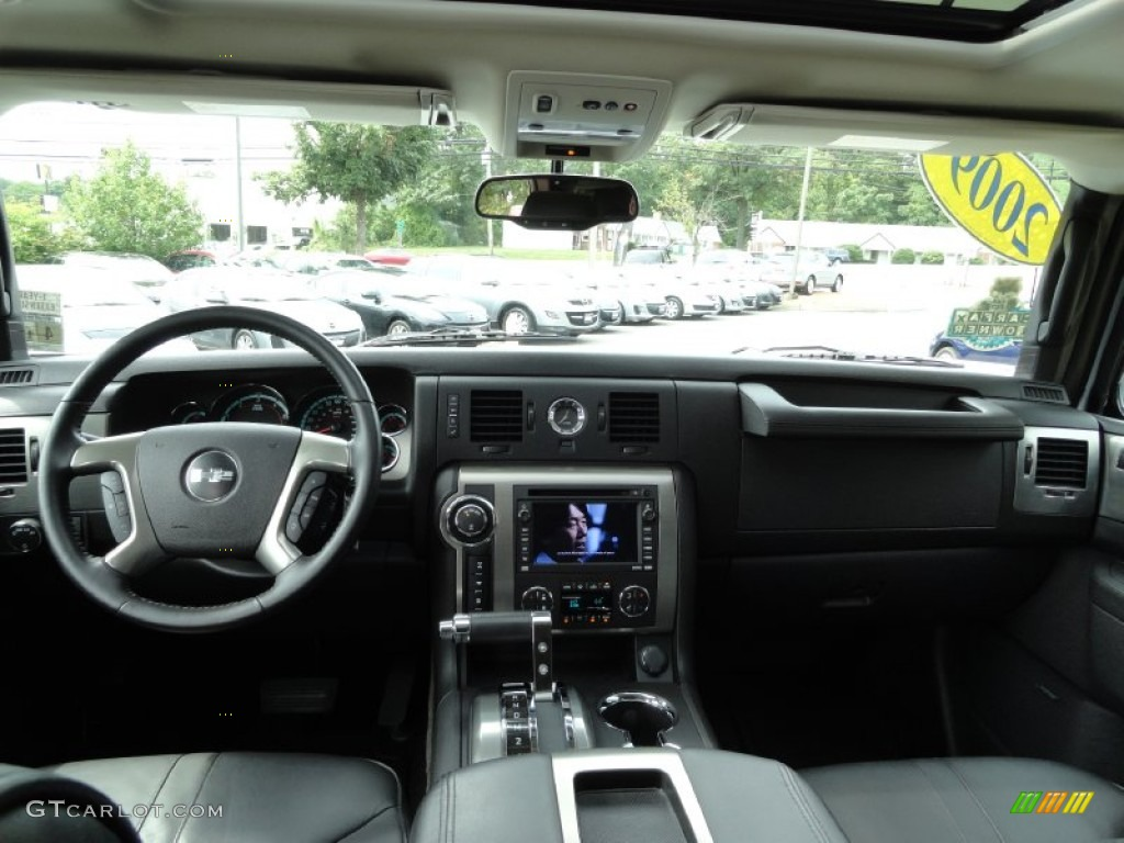 2009 hummer h2 suv silver ice dashboard photos