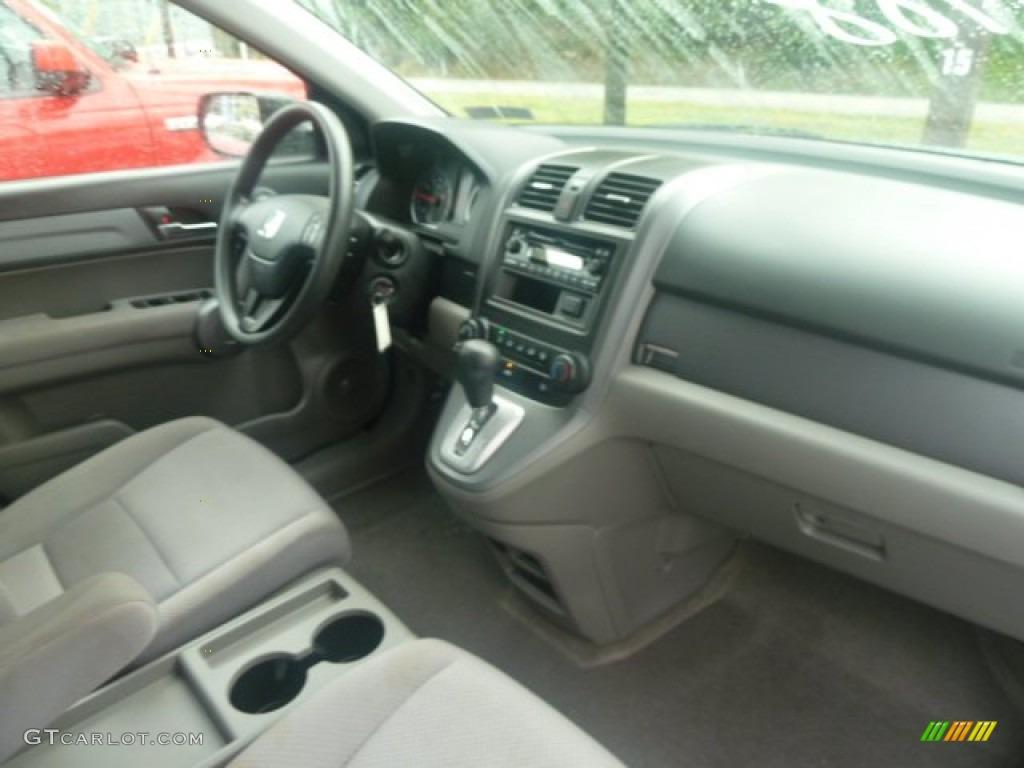 2009 CR-V LX 4WD - Glacier Blue Metallic / Gray photo #11