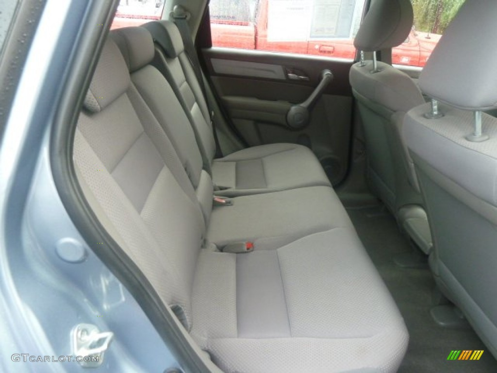 2009 CR-V LX 4WD - Glacier Blue Metallic / Gray photo #13
