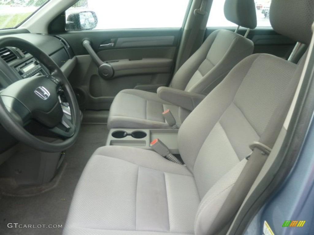 2009 CR-V LX 4WD - Glacier Blue Metallic / Gray photo #15