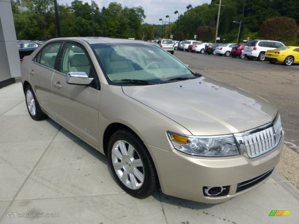 dune pearl metallic 2007 lincoln mkz awd sedan exterior. Black Bedroom Furniture Sets. Home Design Ideas