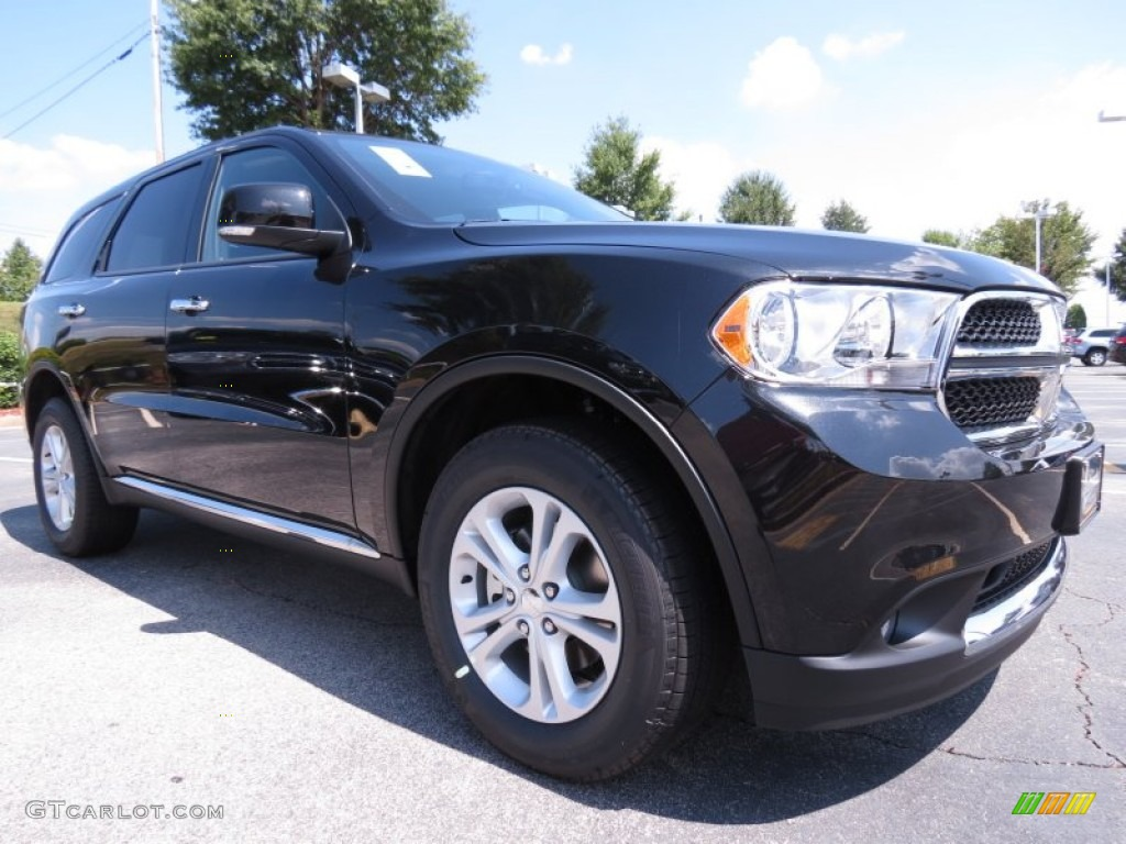 brilliant black crystal pearl 2013 dodge durango crew. Black Bedroom Furniture Sets. Home Design Ideas