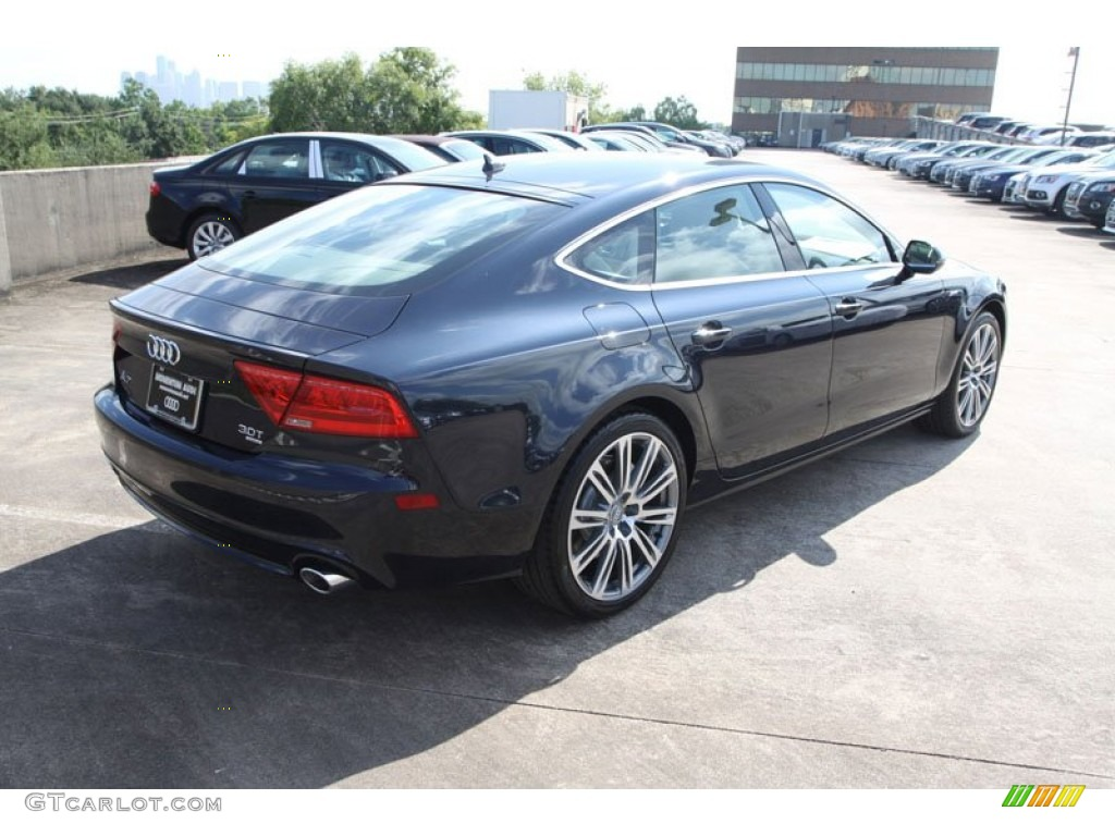 2013 Moonlight Blue Metallic Audi A7 3.0T quattro Premium Plus ...