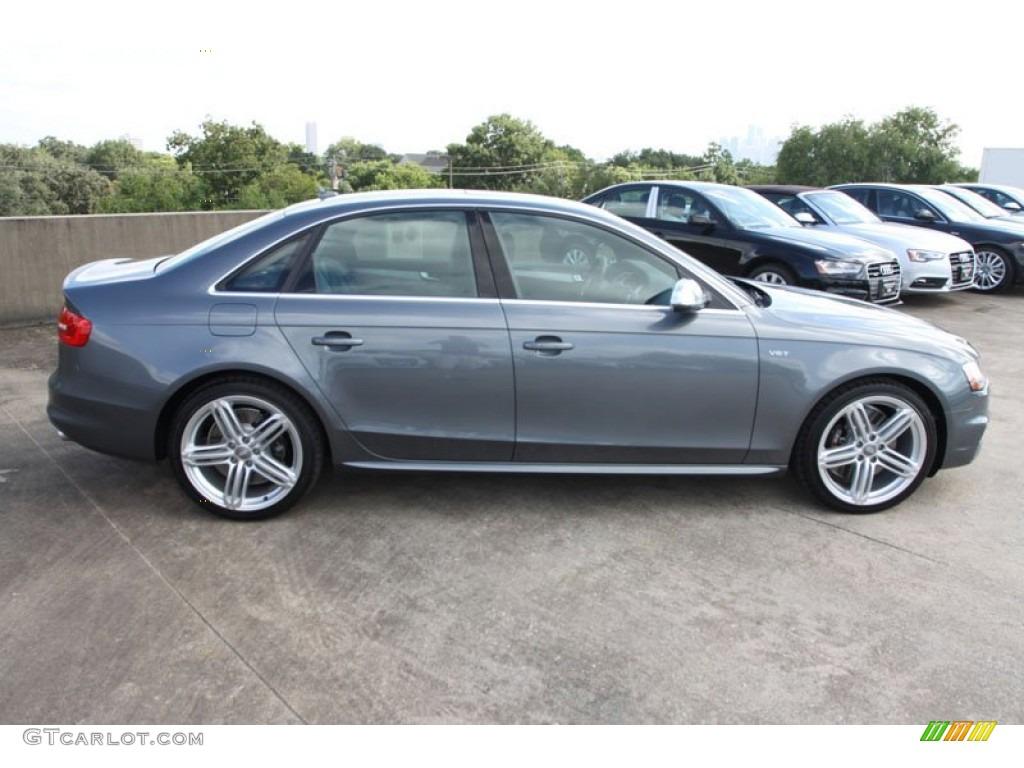 Monsoon Gray Metallic 2013 Audi S4 3 0t Quattro Sedan