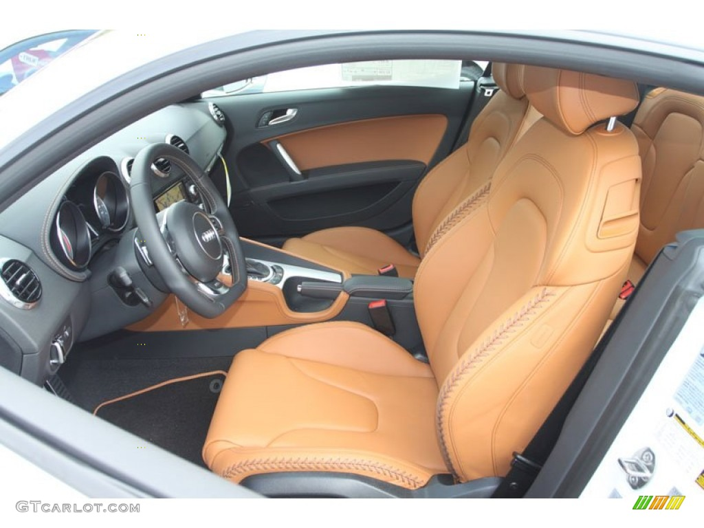 madras brown baseball optic leather interior 2013 audi tt s 2 0t quattro coupe photo 70495472. Black Bedroom Furniture Sets. Home Design Ideas