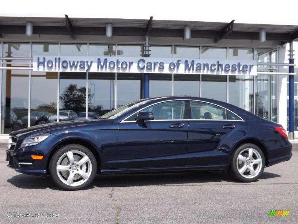 2013 lunar blue metallic mercedes benz cls 550 4matic for Mercedes benz lunar blue