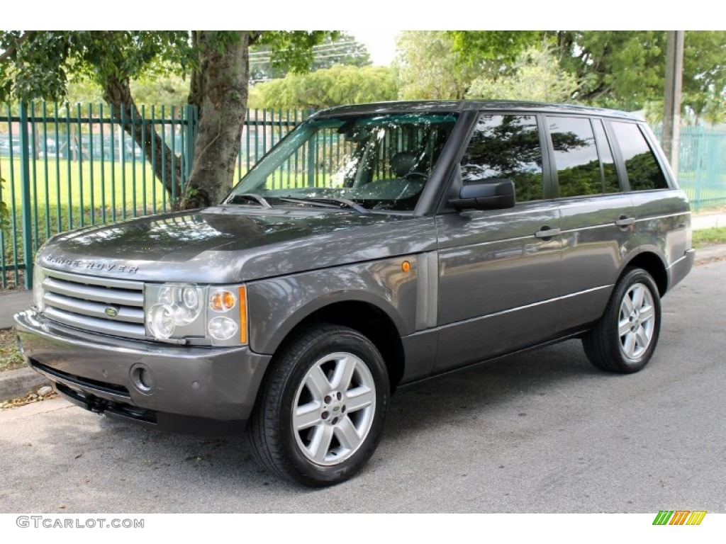 2005 Range Rover HSE - Bonatti Grey Metallic / Charcoal/Jet photo #1