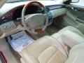 2002 Cadillac DeVille Oatmeal Interior Prime Interior Photo