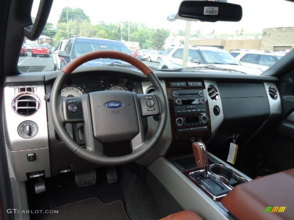 2017 Ford Expedition El King Ranch 4x4 Chaparral Dashboard Photo 70550395