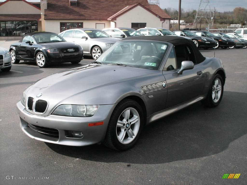 2002 Sterling Gray Metallic Bmw Z3 2 5i Roadster 7013292