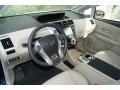 Bisque 2012 Toyota Prius v Interiors