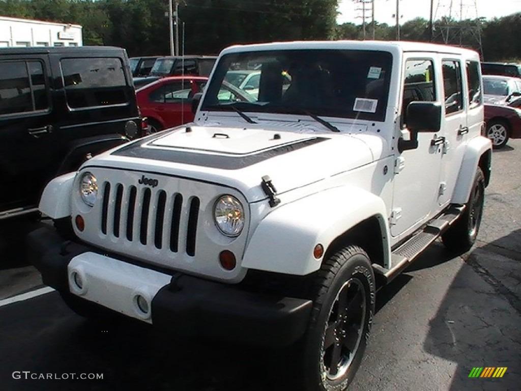 2012 bright white jeep wrangler unlimited altitude 4x4 70561930
