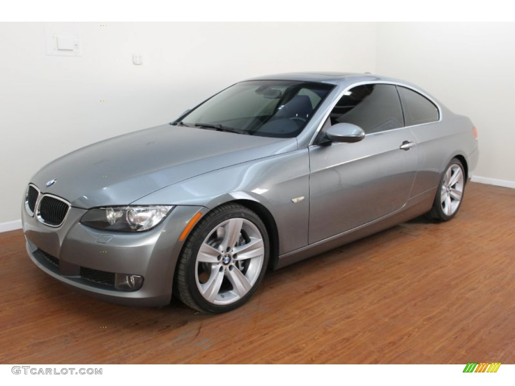 space grey metallic 2008 bmw 3 series 335i coupe exterior photo 70579167. Black Bedroom Furniture Sets. Home Design Ideas