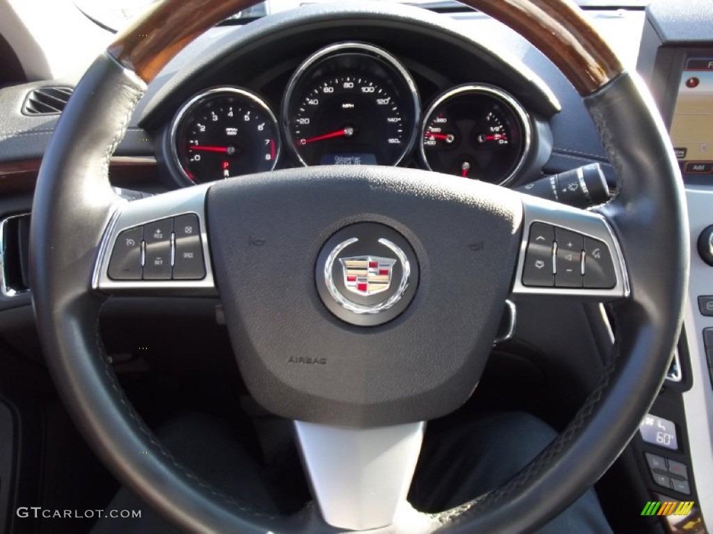 2008 Cadillac CTS Hot Lava Edition Sedan Ebony Steering