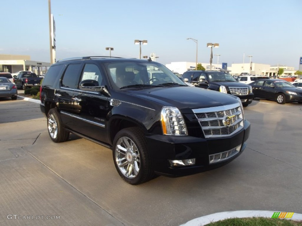 cadillac escalade 2013 black. black raven 2013 cadillac escalade platinum exterior photo 70579404