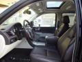 Front Seat of 2013 Escalade Platinum