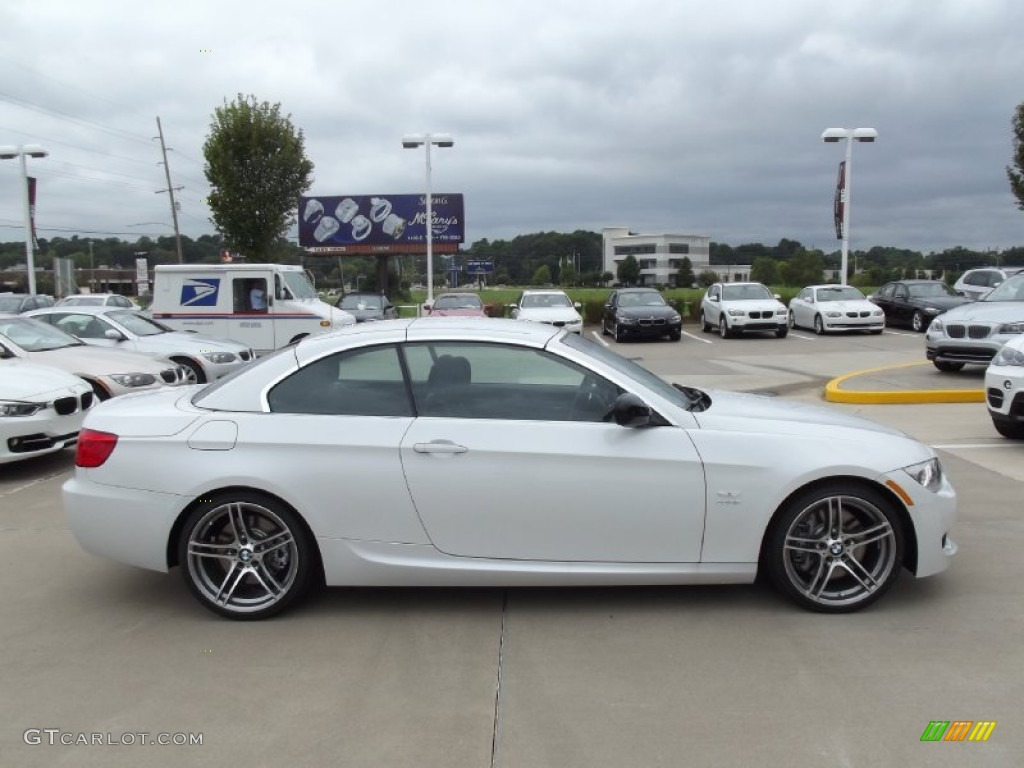 Alpine White 2013 BMW 3 Series 335i Convertible Exterior Photo