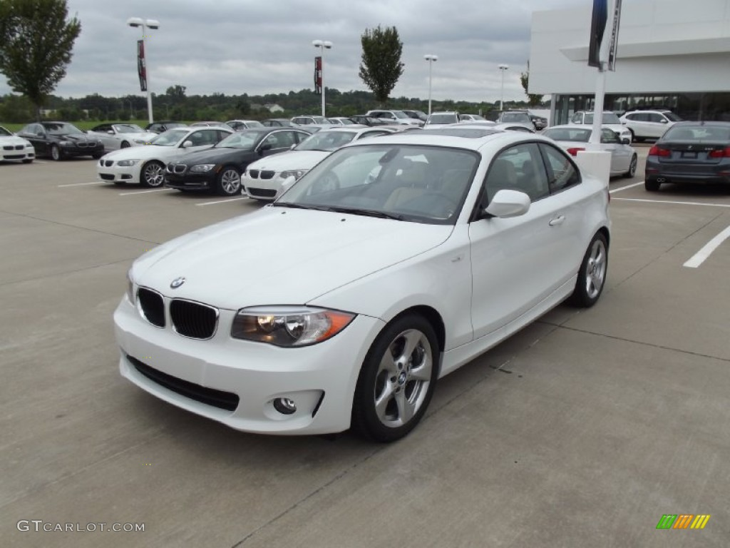 alpine white 2013 bmw 1 series 128i coupe exterior photo 70581606. Black Bedroom Furniture Sets. Home Design Ideas