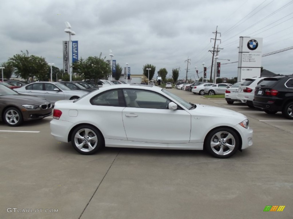 alpine white 2013 bmw 1 series 128i coupe exterior photo #70581648