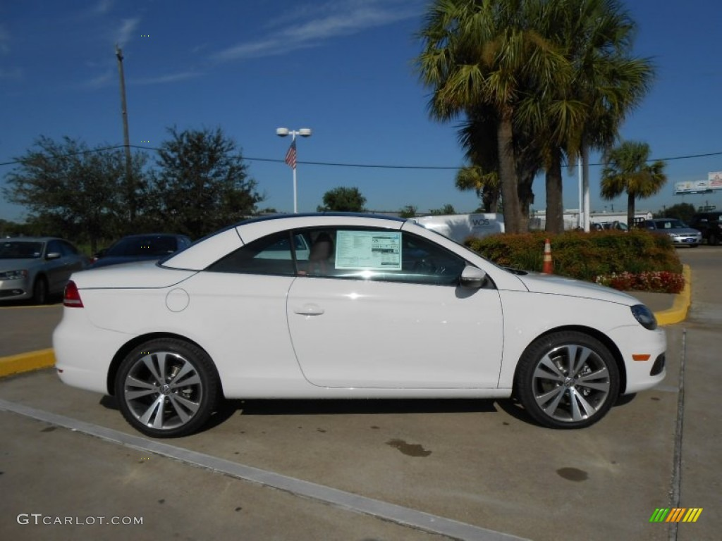 Candy White 2013 Volkswagen Eos Lux Exterior Photo ...