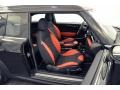 Rooster Red/Carbon Black 2012 Mini Cooper Interiors