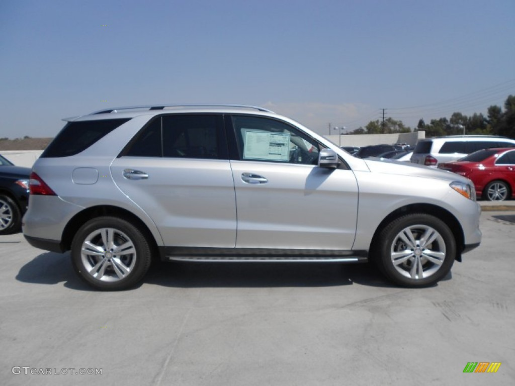 Iridium silver metallic 2013 mercedes benz ml 350 4matic for Mercedes benz silver