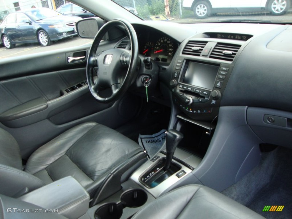 Black interior 2003 honda accord ex l sedan photo 70602708