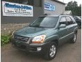 Royal Jade Green 2005 Kia Sportage Gallery