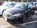 Black 2012 Chrysler 200 S Hard Top Convertible
