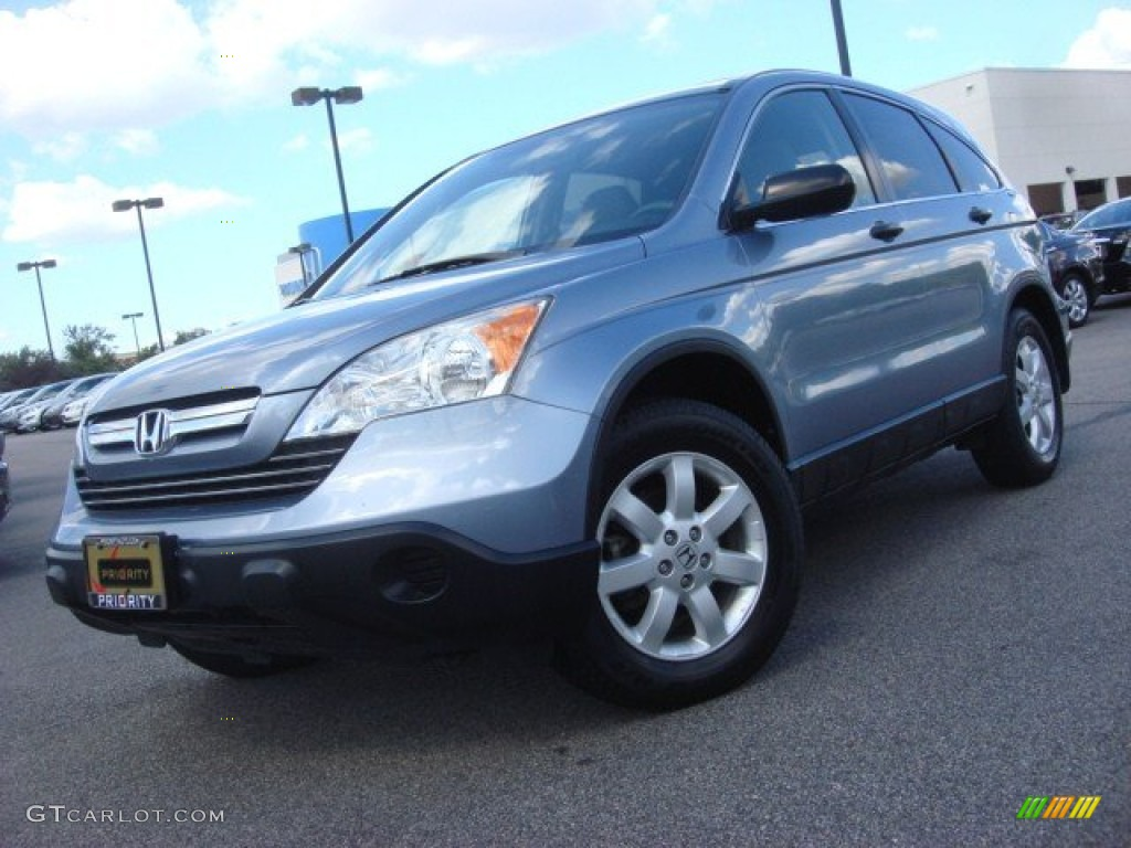 2007 glacier blue metallic honda cr v ex 70617851 photo 5 2008 honda ...