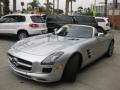 Front 3/4 View of 2012 SLS AMG Roadster