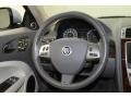 2011 Jaguar XK Ivory/Oyster Interior Steering Wheel Photo