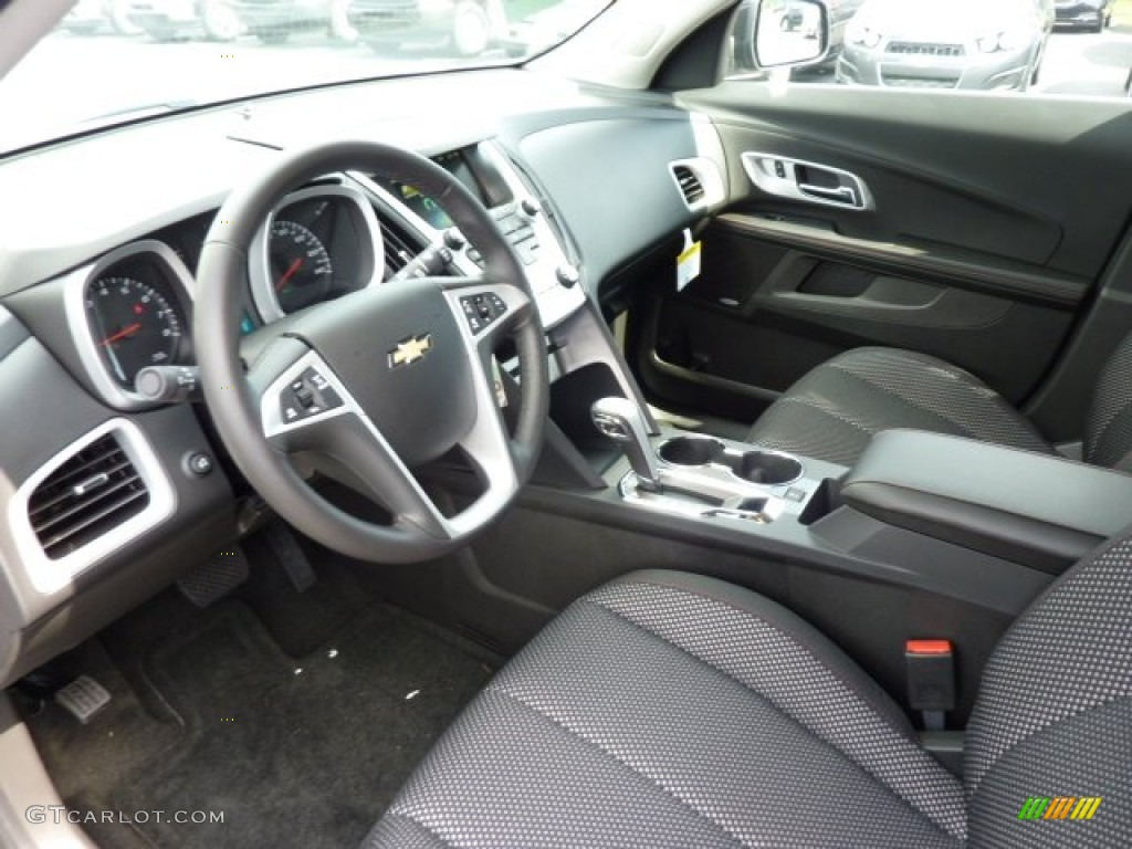 Jet Black Interior 2013 Chevrolet Equinox Lt Awd Photo 70627237